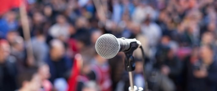 How to get booked as a speaker